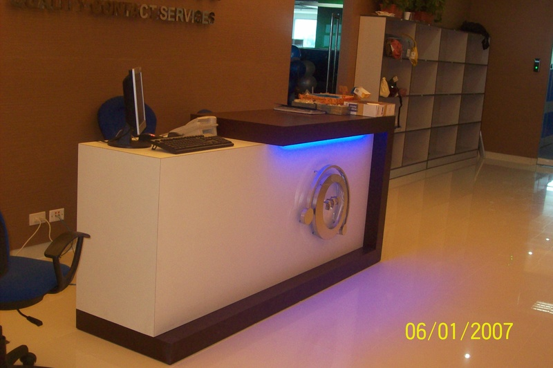 QUALFON RECEPTION COUNTER
